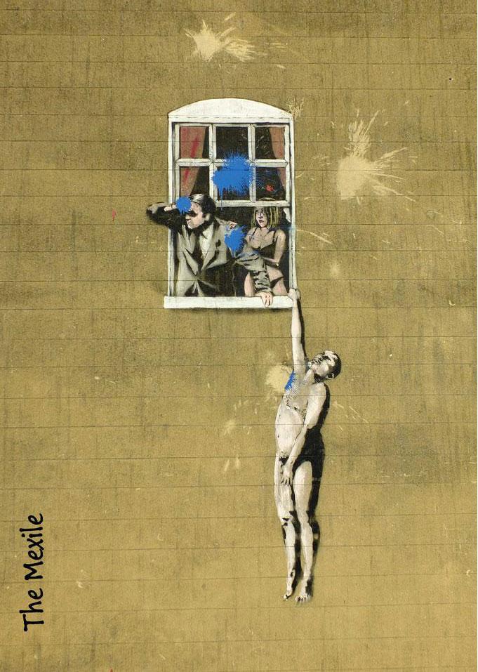 Mexile-Banksy