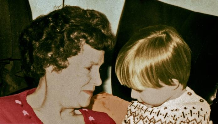 Nan and I Colour